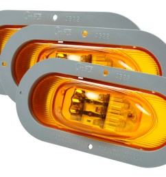 grote industries 54243 3 supernova oval led side turn marker light  [ 1062 x 757 Pixel ]