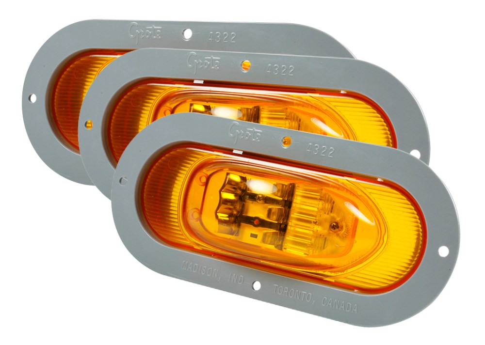 medium resolution of grote industries 54243 3 supernova oval led side turn marker light