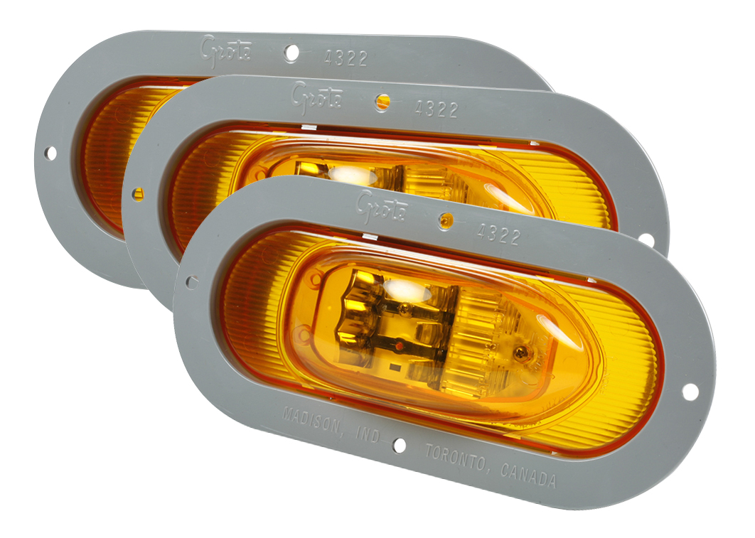 hight resolution of grote industries 54243 3 supernova oval led side turn marker light