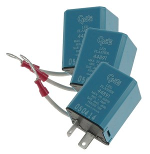 44891  2 Pin Flasher, VariableLoad Electronic LED
