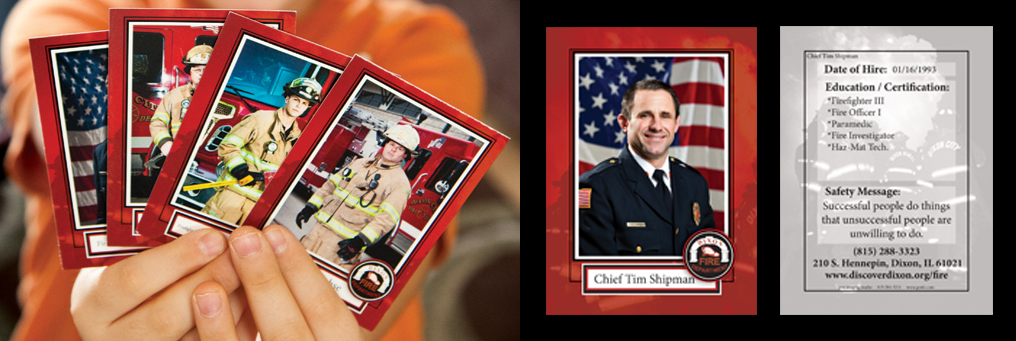 firefighter cards