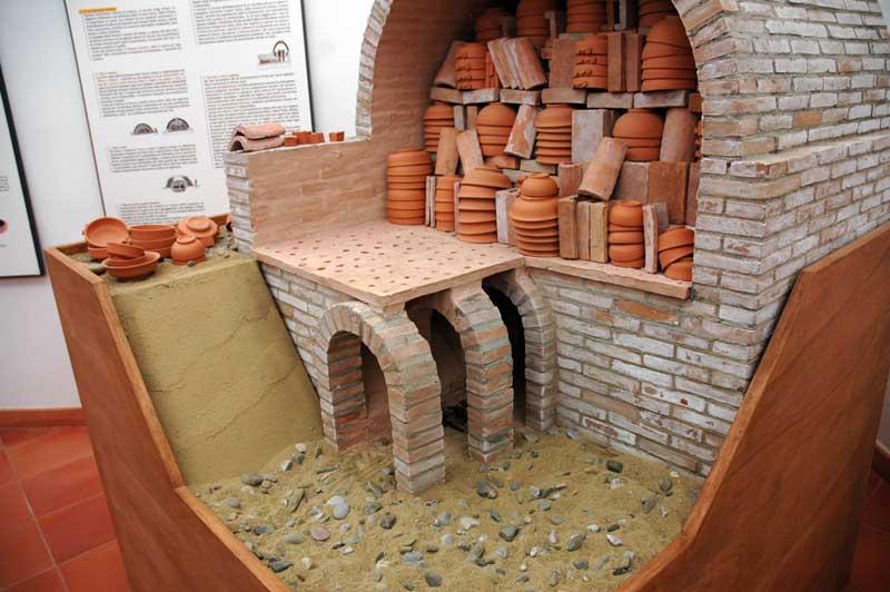 Ceramisti di Grottaglie come si preparava il forno per la