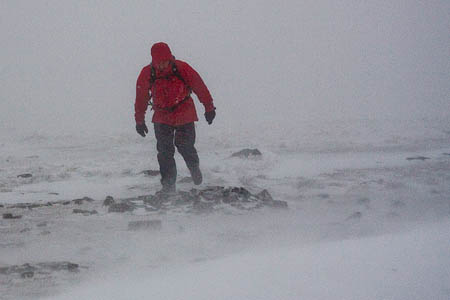 Severe weather increases the risk of hypothermia