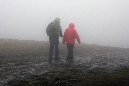 Cold and wet conditions can lead to hypothermia