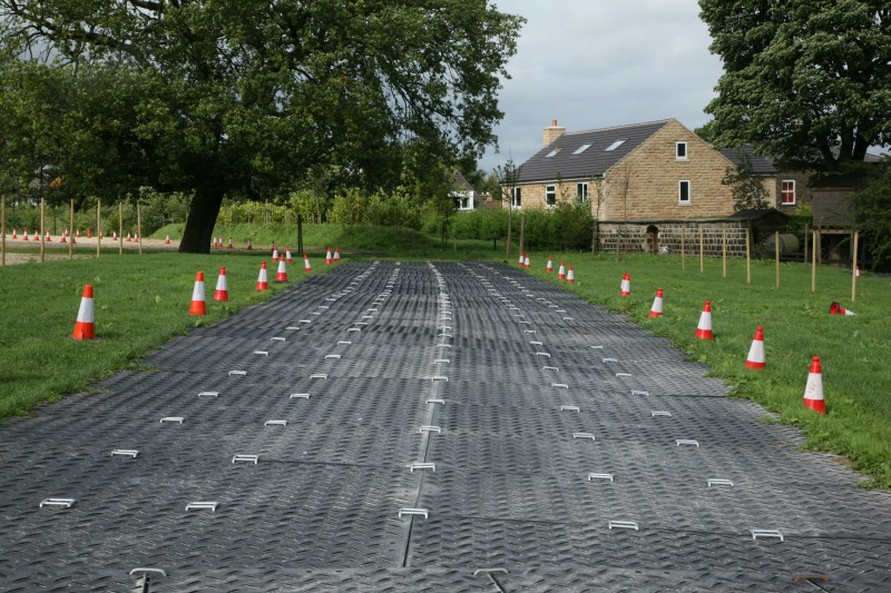 Temporary Road Surface  Ground Guards  Ground Protection