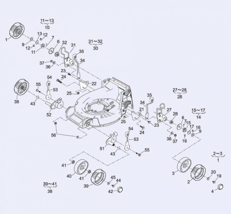 Danarm / Kaaz 36061-121 Height Adjuster Lever Knob