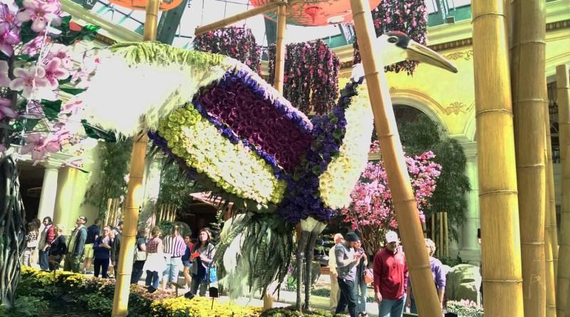 Floral sculpture.