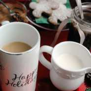linky party gingerbread coffee syrup