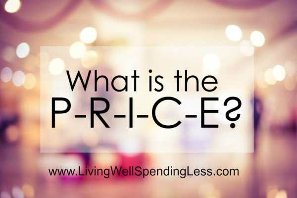 """There are a million ways to spend our hard earned money, but how do we know we are making the right choices? Start asking """"What is the PRICE?"""" today! Discover the value of taking the time up front to fully analyze a financial decision to save you headaches and stress in the long run. https://www.groundedandsurrounded.com/what-is-the-price/"""