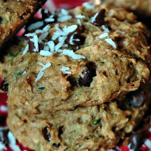 Sustain Recipes Zucchini Cookies Gluten Free Natural