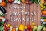 Study: Low Fat vs Low Carb?