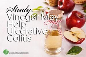 Study: Vinegar May Help Ulcerative Colitis