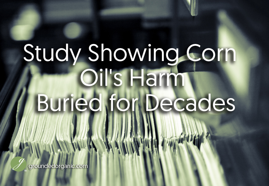 corn oil harm buried