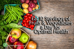 Eat 10 Servings of Fruits & Vegetables a Day for Optimal Health