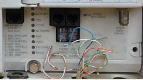 Motorola Cable Box Wiring Diagram Use Own Router With Fios Ont Ethernet Grounded Reason