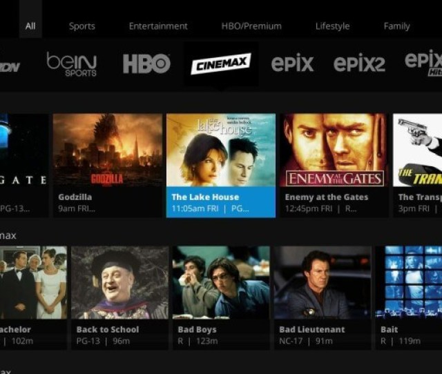 Cinemax Is Now Available On Sling Tv
