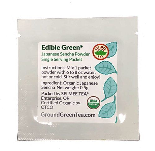 Edible Green single serving packet
