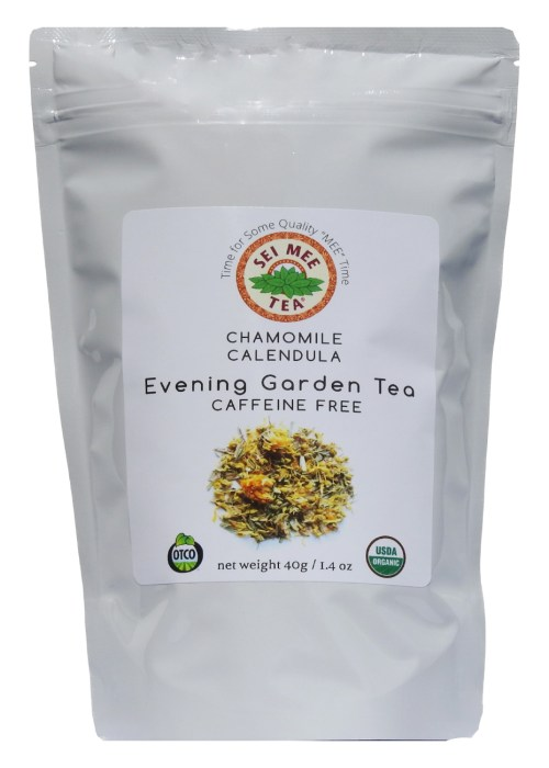 Chamomile Blend Evening Garden Tea, Organic