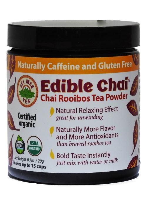 Rooibos Powder, Organic Edible Chai -10 cup