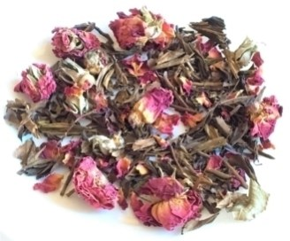 relax with roasted aroma from Hojicha rose
