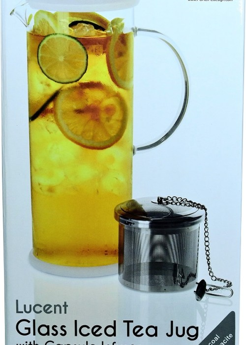 Glass Iced Tea Jug with Infuser