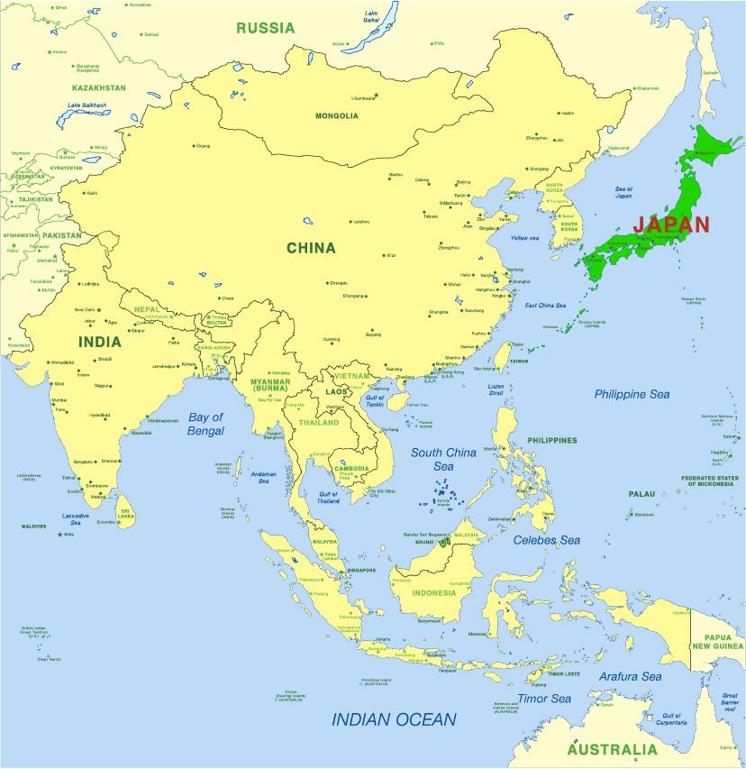map far east 2 – Sei Mee Tea LLC