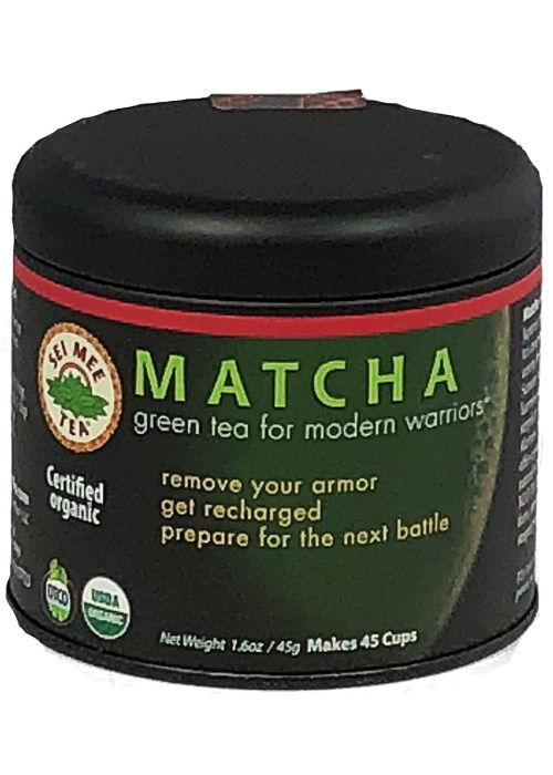 Matcha Green Tea For Modern Warriors - 45 cup Gift Tin