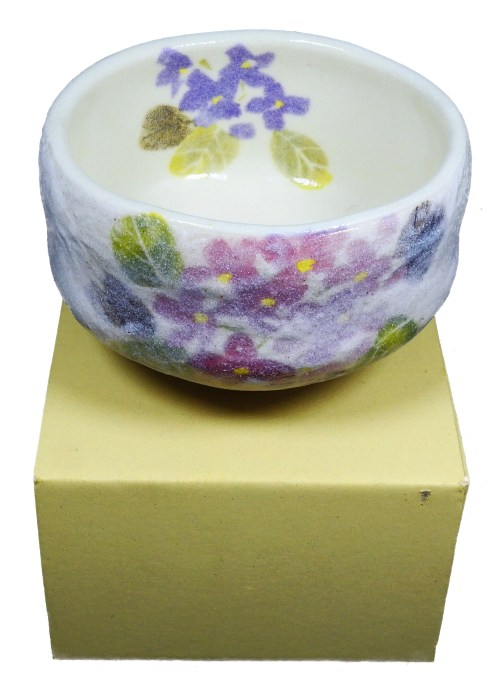 Ceremonial Matcha Tea Bowl - Purple