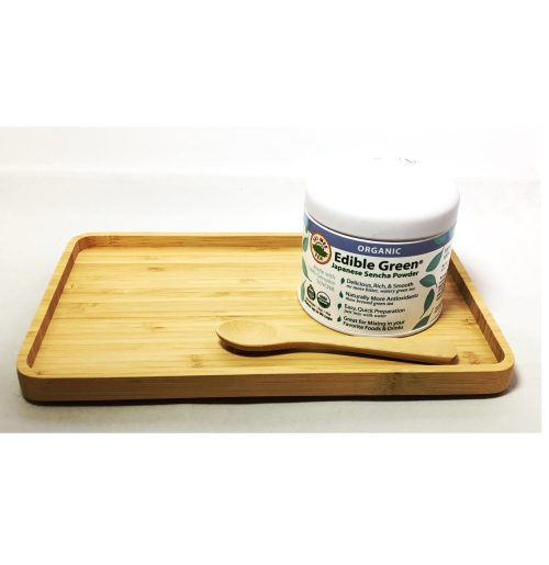 Bamboo Tray Spoon Sencha Powder Regular