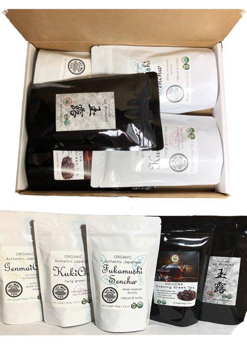 Organic Japanese Tea Assortment Gift Box