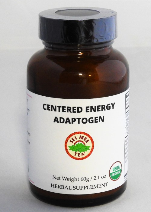 Centered Energy Adaptogen 60g