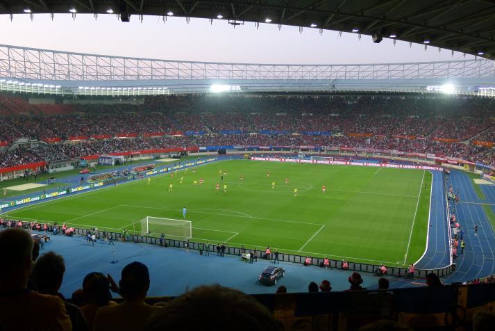Groundhoppingse  Ernst Happel Stadion