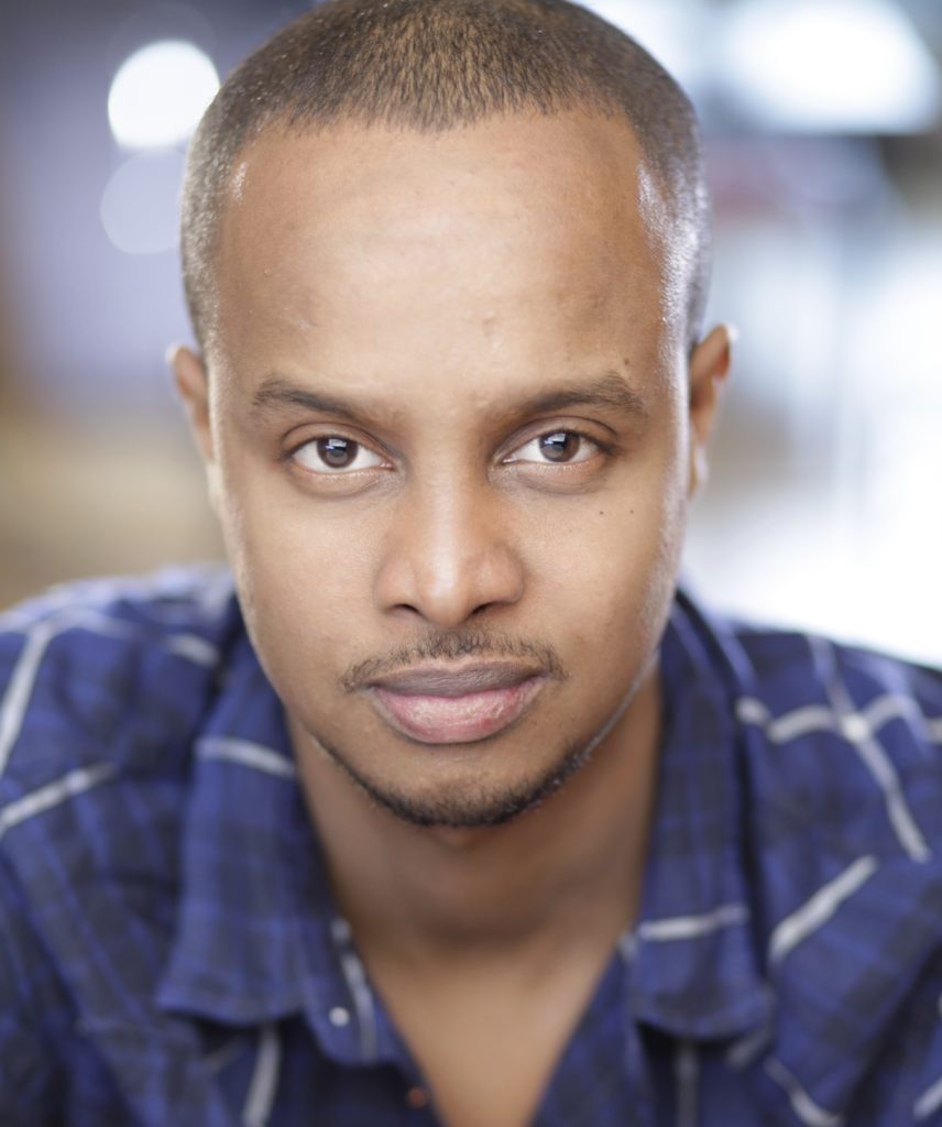 Actor Souleiman Bock