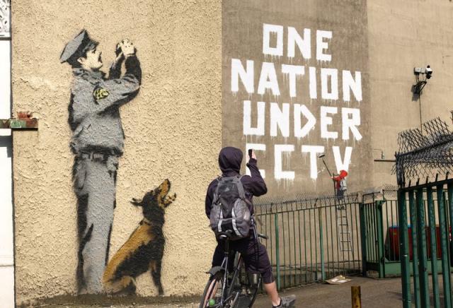 graffiti artist banksy unmasked