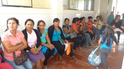 Women waiting to see the providers
