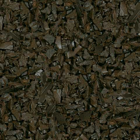 Mocha Brown Rubber Mulch Swatch Example