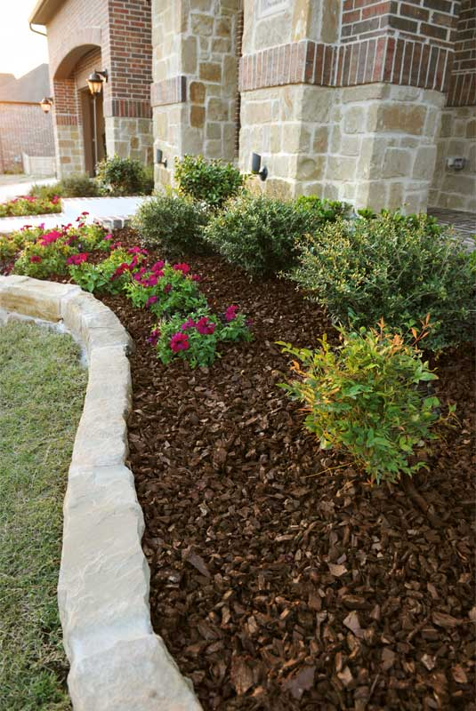 landscaping rubber mulch - leed