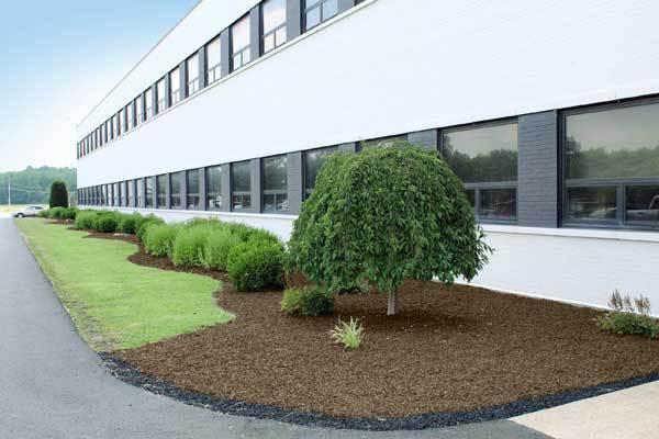 landscape rubber mulch leed credits