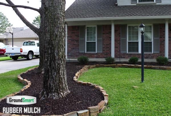 landscape rubber mulch perfect