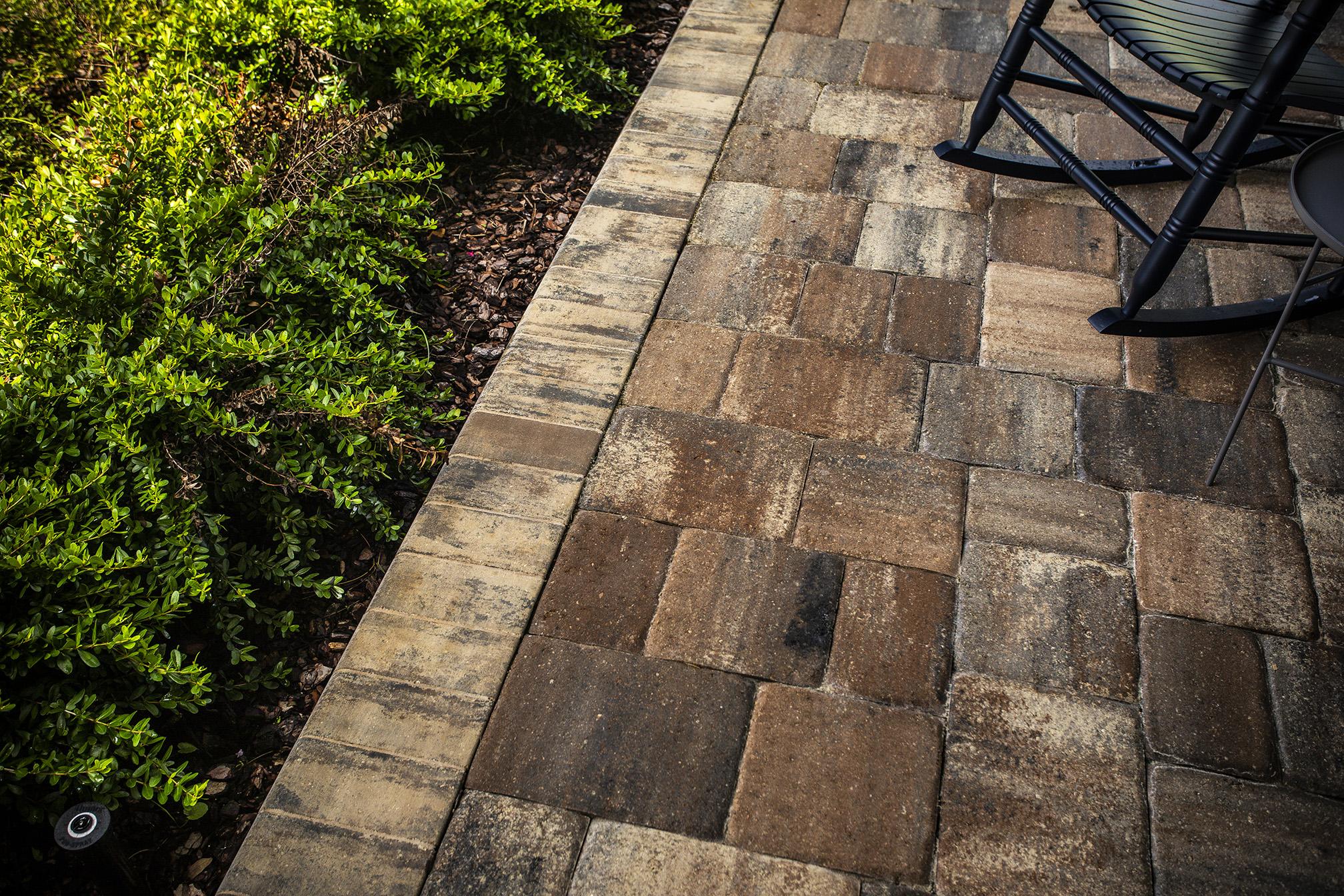 paver patios considering materials