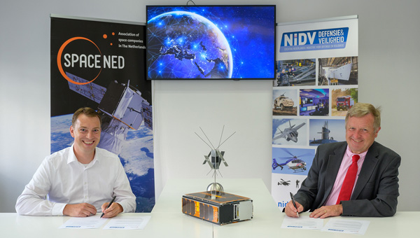 SpaceNed and NIDV sign cooperation agreement