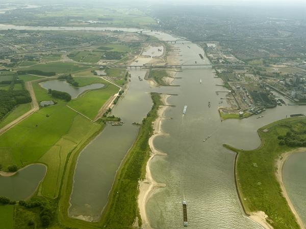 Ruimte Voor De Waal Nijmegen (photo: RWS)