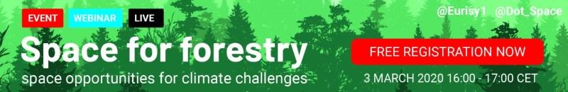 Register for Space for Forestry webinar