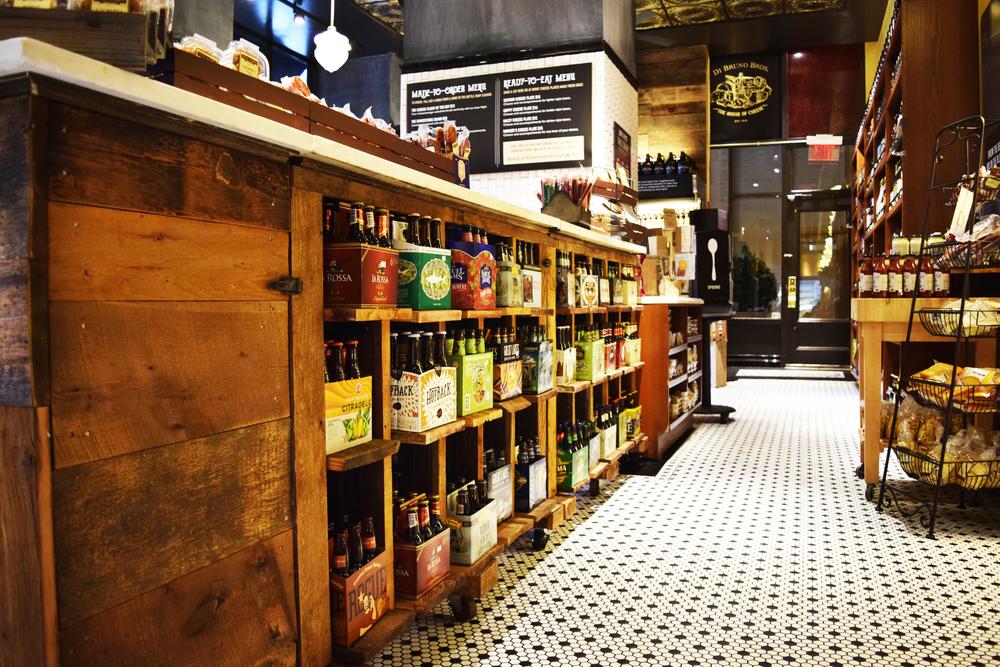 Di Brunos Bros Bottle Shop Groundswell Design
