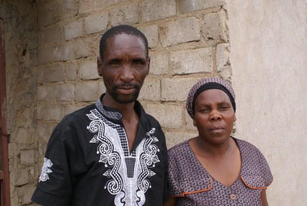 Photo of James and Rosina Komape