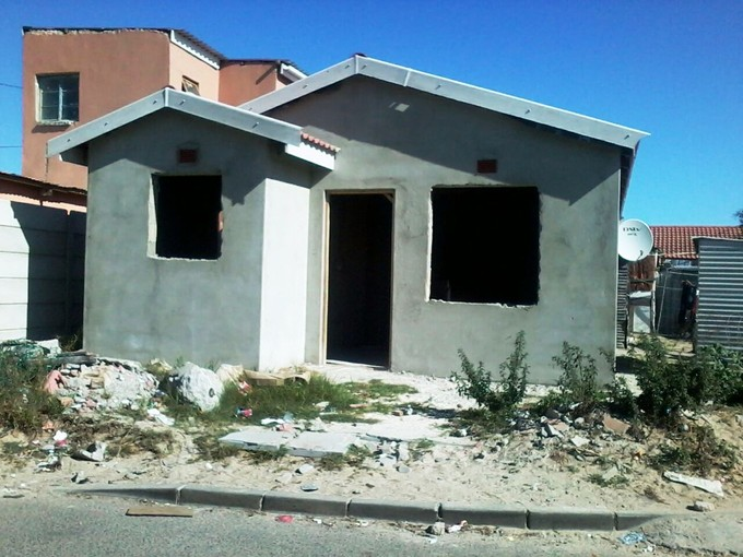 Five years building an RDP house and still not finished