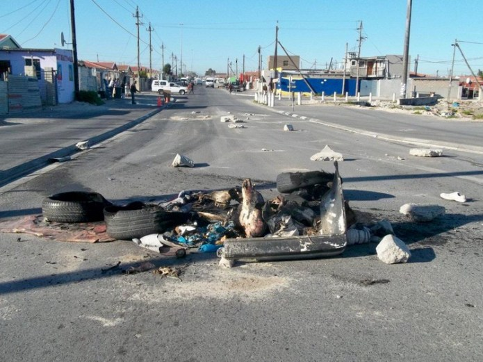 Electricity protests after RDP homeowners disconnect informal settlement