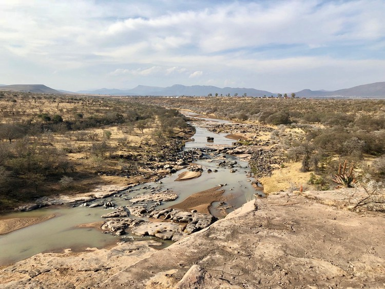 Photo of a river valley
