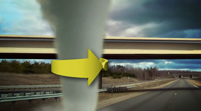 Why Not To Seek Shelter Under An Overpass During Tornados