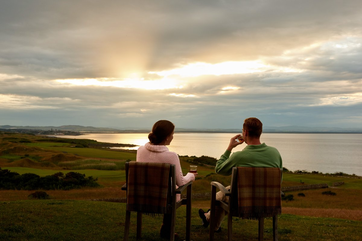 Fairmont St Andrews Fife  Luxury spa and golf holidays